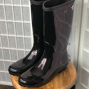 Ugg Women's Tall Shaye Rain Boot Size 10